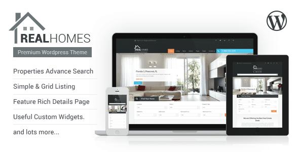 Real Home   Tema per Agenzia Immobiliare