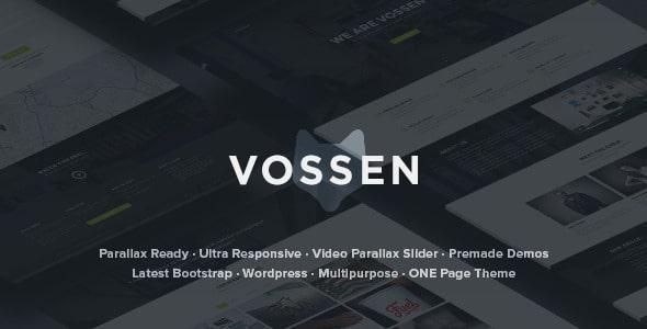 Vossen | Tema con Parallax