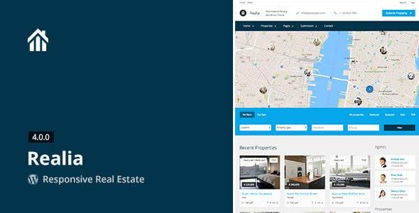 Realia | Template per Agenzia Immobiliare