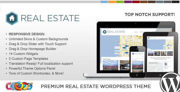 WP Real Estate Pro 3 | Tema WP