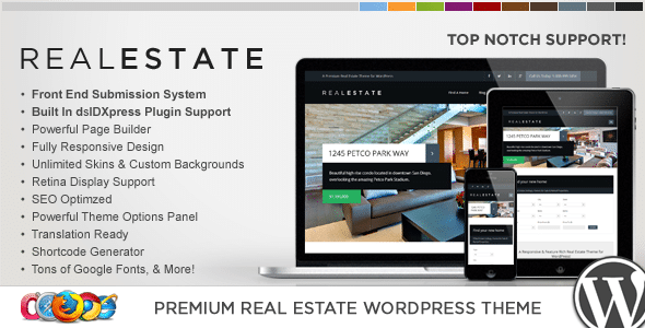 WP Real Estate PRO 6 | Template Immobiliare
