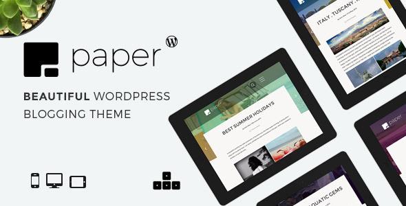 Paper - Tema Blog