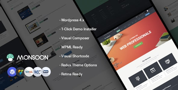 Monsoon | Tema Wordpress Business