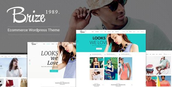 Brize - Tema Wordpress Fashion
