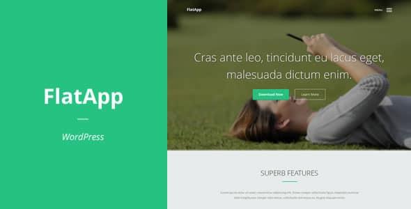 FlatApp - Landing page per App