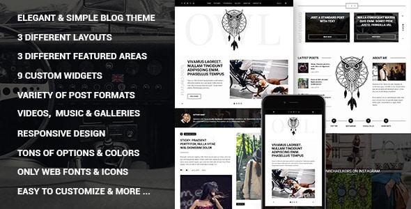 Owl - Tema per Blog