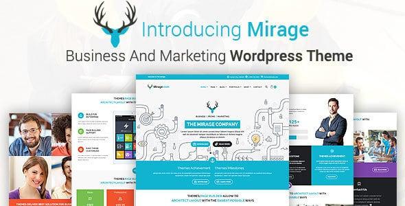 Mirage - Tema Wordpress Comunicazione e Marketing
