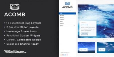 Acomb - Tema Minimal per Blog Wordpress