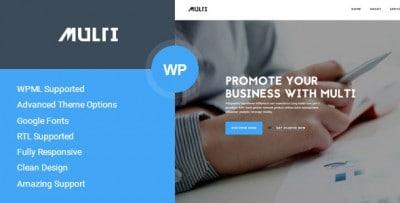 Template business wordpress - Multi
