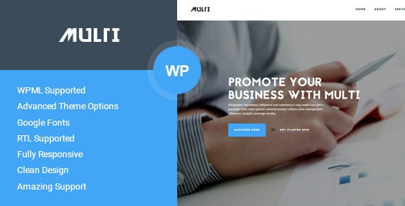 Template business wordpress - Multi