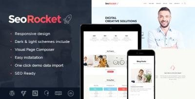 Seo Rocket - Tema Wordpress SEO, Marketing